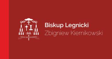Zarządzenie Biskupa Legnickiego ws. duszpasterstwa w stanie pandemii
